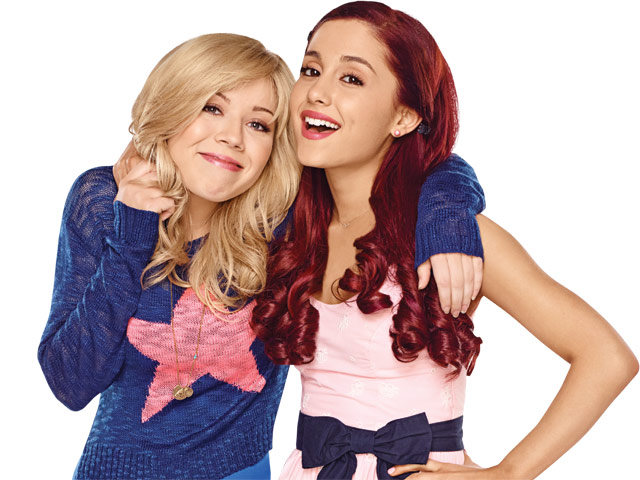 Sam and cat jennette mccurdy and ariana grande nominated in 2014 kca