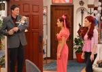 Jennette McCurdy, Ariana Grande, Tom Schmid